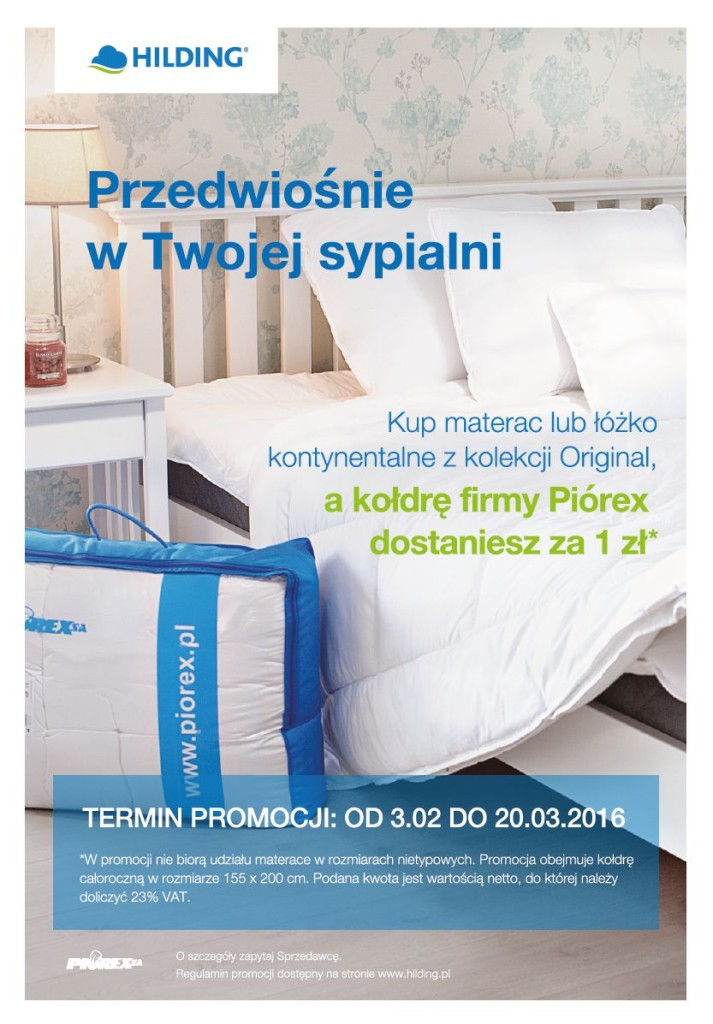 Promocja w Twojej sypialni - plakat