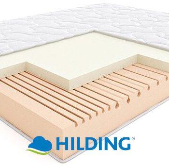 Materac piankowy termoelastyczny Salsa Hilding z logo