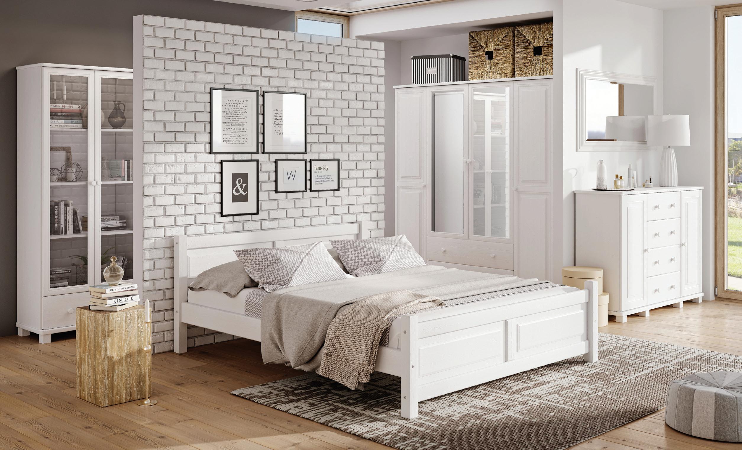 łóżko Sosnowe Lk3110 Drewmax świat Sypialni Bielsko Rybnik Cieszyn