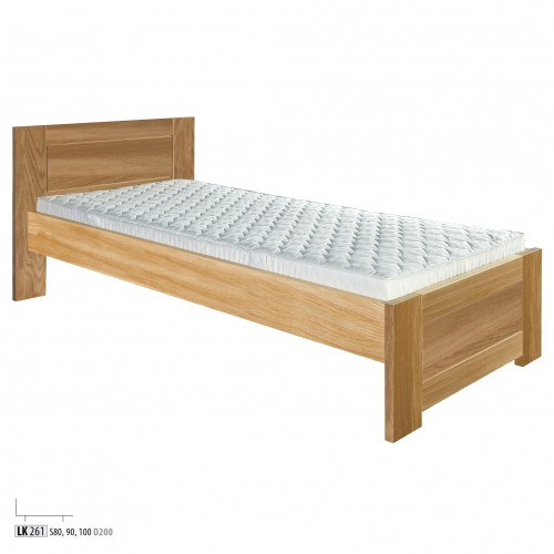 łóżko Dębowe Lk 261 Drewmax świat Sypialni Bielsko Rybnik Cieszyn
