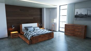 Łóżko drewniane Malmo