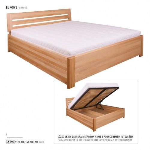 łóżko Dębowe Lk 211 Drewmax świat Sypialni Bielsko Rybnik Cieszyn