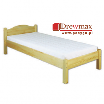 Łóżko sosnowe LK 124 Drewmax