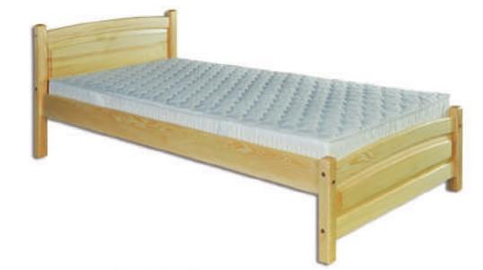 Łóżko sosnowe LK 125 Drewmax