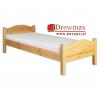 Łóżko sosnowe LK 128 Drewmax