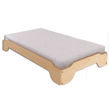 Łóżko sosnowe LK 138 Drewmax