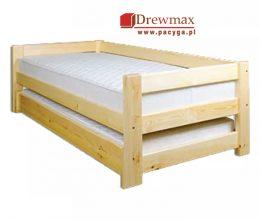 Łóżko sosnowe LK 134 drewmax