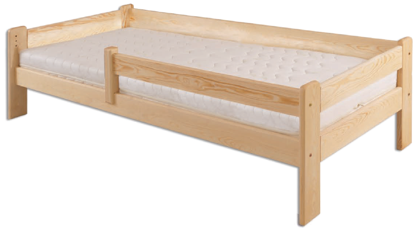 Łóżko sosnowe LK 137 Drewmax