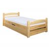 Łóżko sosnowe LK 144 Drewmax