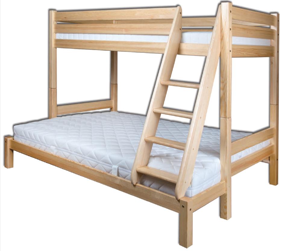 Łóżko sosnowe LK 155 Drewmax