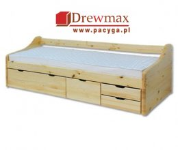 Łóżko sosnowe LK 131 Drewmax