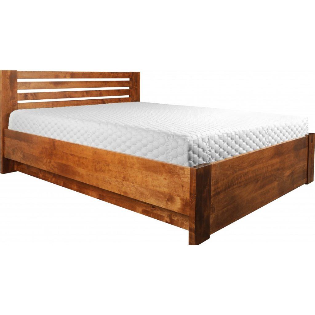 Łóżko dębowe Bergen Plus Ekodom