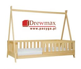 Łóżko sosnowe LK142 Drewmax