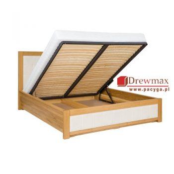 Łóżko dębowe LK 200 Drewmax pojemnik dębowy lk 200 drewmax