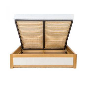 Łóżko dębowe LK 214 Drewmax