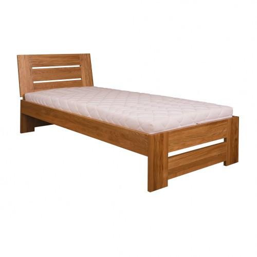 Łóżko dębowe LK 282 Drewmax