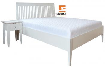 łóżko dębowe Glamour Ekodom