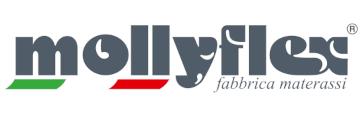 Logo - mollyflex białe