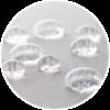 Ochraniacz wodoodporny na materac Mollyflex krople